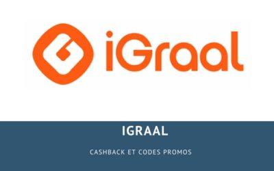 Igraal : Cashback et codes promos