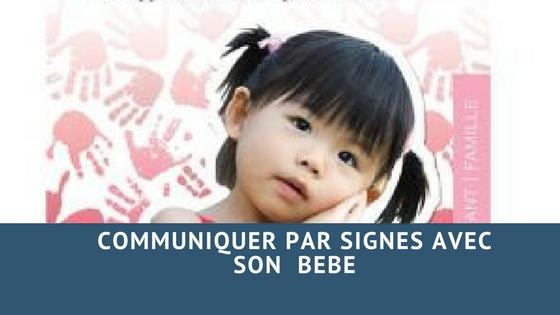 Communiquer par signes avec son bébé