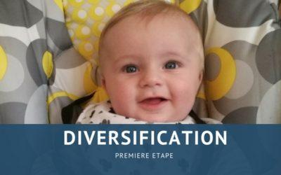 La diversification alimentaire : étape 1