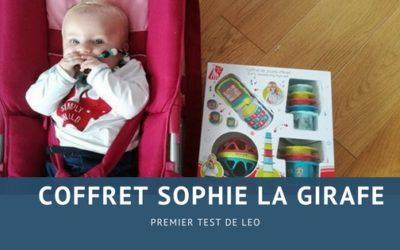 Le coffret de jouets d'éveil de Sophie la Girafe