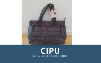 Le sac à langer de chez Cipu