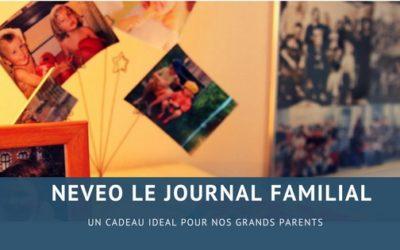 J'ai trouvé le cadeau idéal pour nos grands parents: Neveo le journal familial