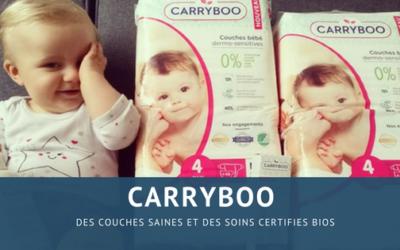 Carryboo : des couches saines et des soins certifiés BIO