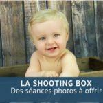 Des séances photos à offrir avec la ShootingBox