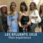Mon expérience aux Efluents 2018
