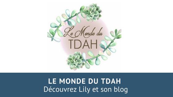 Portrait de Lily du blog Le monde du TDAH