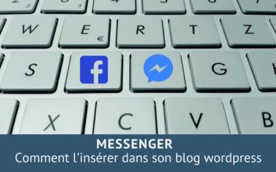 Insérer Messenger sur un blog wordpress