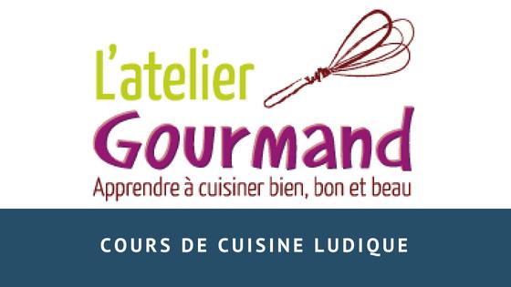 Cours de cuisine ludique à L'Atelier Gourmand