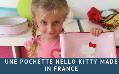 Une pochette Hello Kitty Made in France