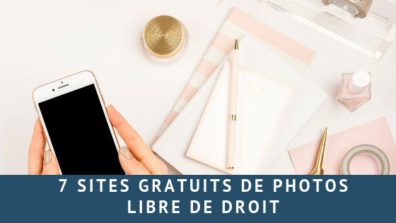 7 Sites gratuits de photos libre de droit