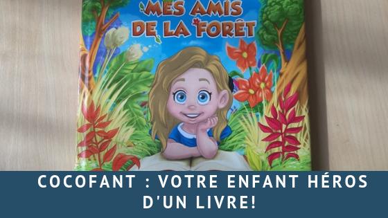 Cocofant: votre enfant héros d'un livre!