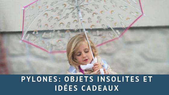 Pylones: objets insolites et idées cadeaux