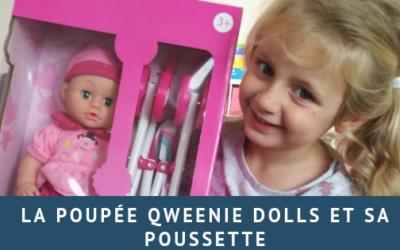 La poupée Qweenie dolls et sa poussette