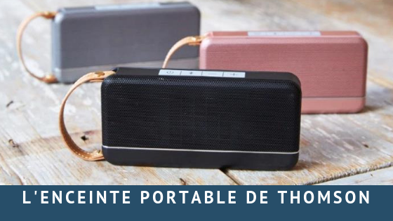 Enceinte portable Thomson