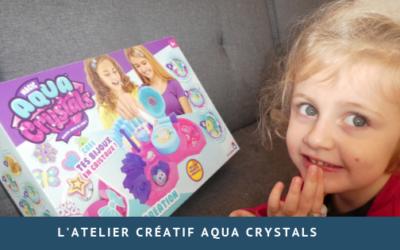 L'atelier Aqua Crystals parfait pour Margaux!