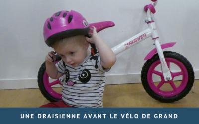 """Une draisienne avant le vélo """"de grand"""""""