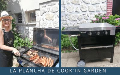 La plancha de Cook'in Garden pour des repas en extérieur