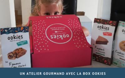 Un atelier gourmand avec la box Ookies