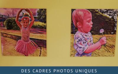 Des cadres photos originaux grâce à Flexilivre