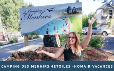 Camping des Menhirs 4 étoiles – Homair Vacances