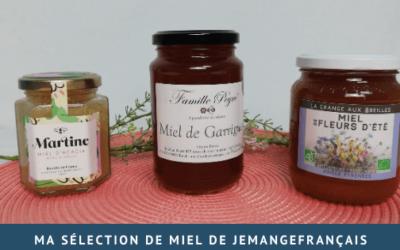 Ma sélection de miel de Jemangefrançais