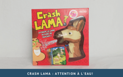Crash Lama : attention à l'eau!