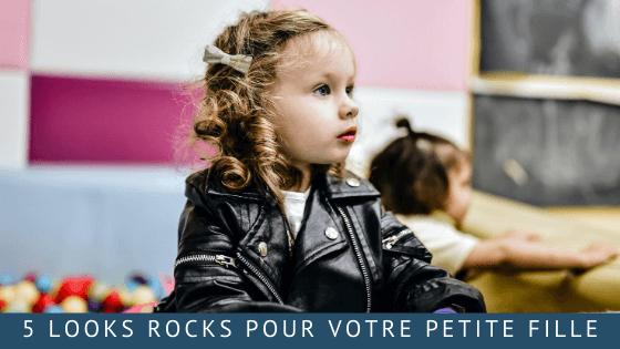 5 looks rocks pour votre petite fille
