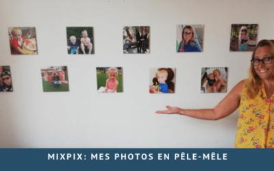 Pêle-mêle de photo avec MIXPIX
