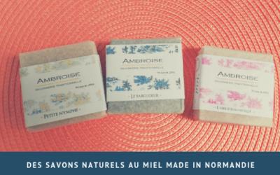 Des savons naturels au miel made in Normandie