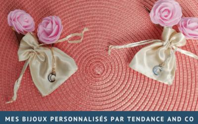 Mes bijoux personnalisés par Tendance and Co
