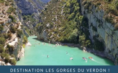 Vacances en France : destination les Gorges du Verdon!