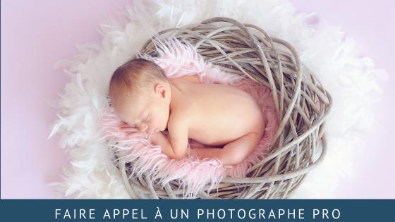 Faire appel à un photographe pro en tant que jeunes parents